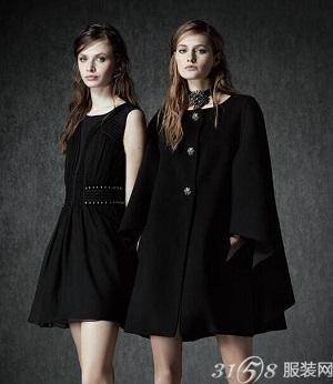 今年秋冬大衣流行趋势——斗篷大衣图片