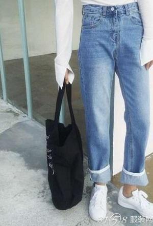 牛仔裤款式