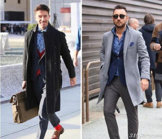 冬季男士休闲西装如何搭配 做个绅士型男图片