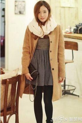女士冬季服装搭配 风度温度都兼顾