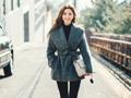 冬季穿衣怎样保暖又显瘦?收腰大衣搭配来帮你