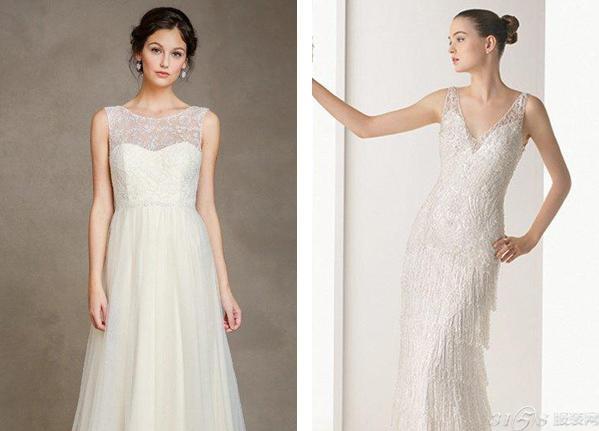 经典婚纱款式