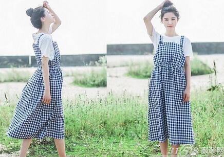 时尚长裙搭配技巧