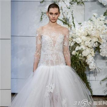 2018时尚的婚纱礼服款式有哪些?