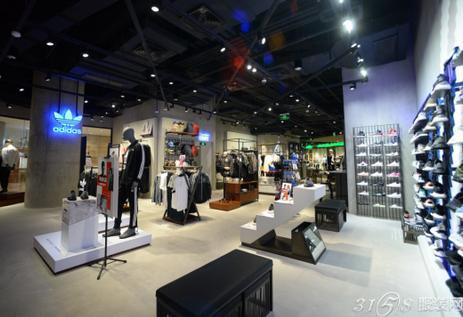 阿迪达斯在重庆开运动时尚品牌体验店