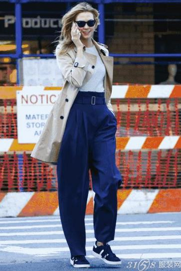 今年流行的奶奶裤是什么样子?