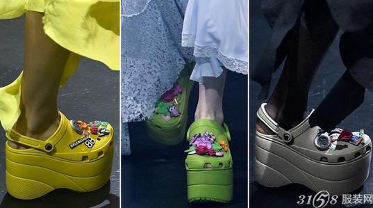 巴黎世家和Crocs合作款洞洞鞋好看吗?