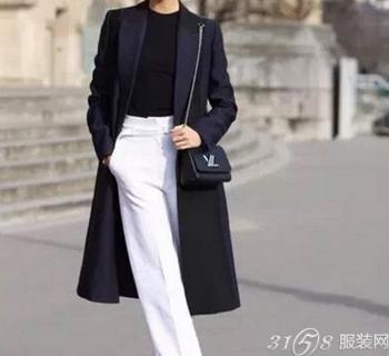 今年流行什么颜色大衣?