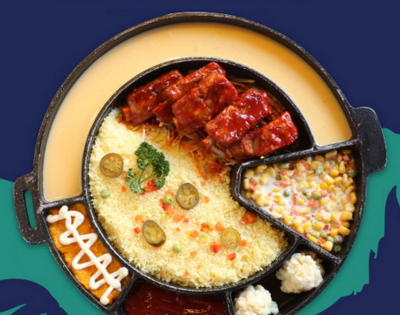 火炉岛韩式涮烤锅加盟 涮烤同步两不误