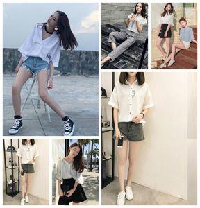 白色短袖衬衫怎么搭配学会这6种穿搭就美美哒