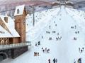 广州万达滑雪场在哪里?花都万达滑雪场高清效果图