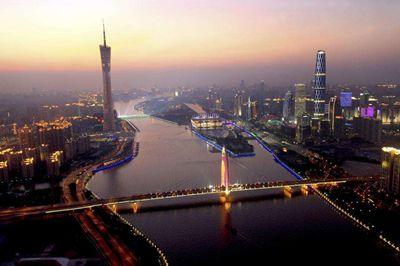 天河CBD地区生产总值全国第二仅次深圳福田CBD