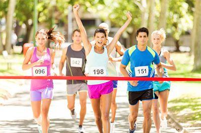 3158招商加盟网与您起跑铁山坪国际马拉松