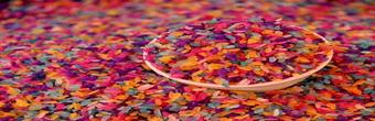 花米饭 把植物的色彩,染进米饭里