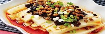 铜仁江口特色三绝——米豆腐、豆腐干、牛干巴!