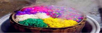 贵州特产:布依族五色花米饭