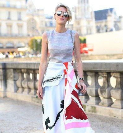 欧美女生时尚搭配穿出霸气
