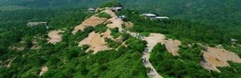 真实美景:河北承德磬锤峰