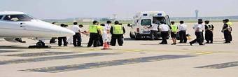 衡水市举行医疗航空救援演练