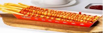 中薯哒创意薯条堡 不可代替的优势