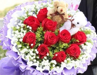 怎样包装玫瑰花束,我要步骤图片