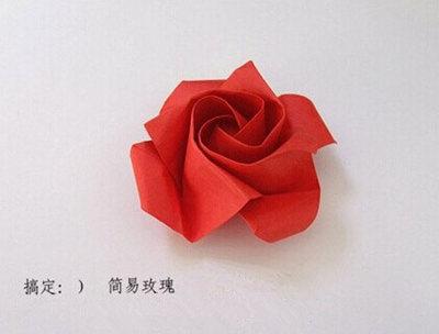 这一种纸玫瑰好看吗?