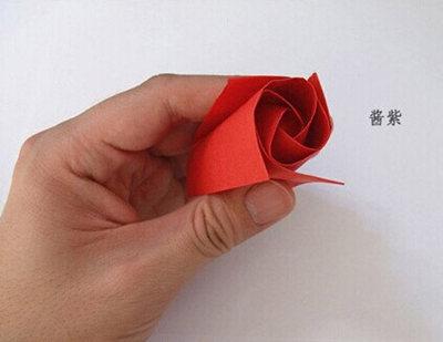 最简单的玫瑰花折法 -3158财富河南