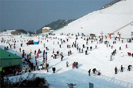2014安吉江南天池滑雪节时间 地点 交通指南图片