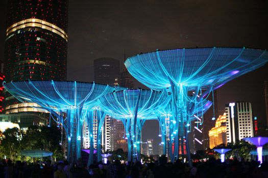 2015广州海心沙灯光节时间 地点 门票