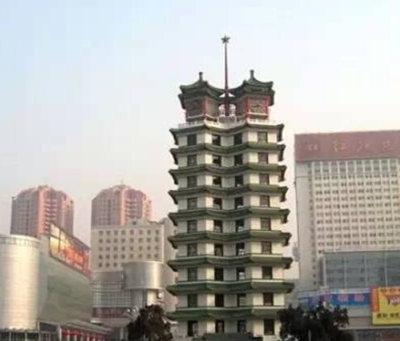 郑州周边免费景点:二七纪念塔