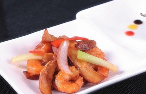 ... 菜】干煸松茸菌蝦干怎麼做?干煸松茸菌蝦乾的做法