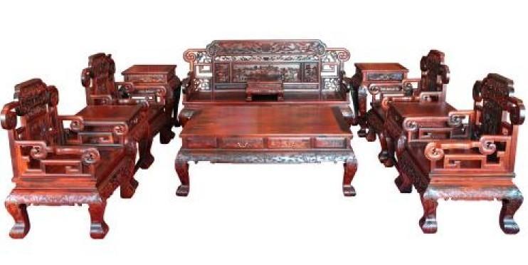 红木沙发—现代与古代的桥梁