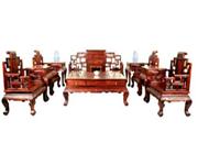 古典中式红木家具,象征着高贵品味