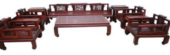 中式家装都适宜选择原材做红木家具