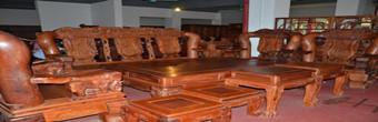 红木家具常见三种表面处理方式上蜡工艺
