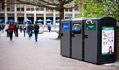 美国人发明智能垃圾桶