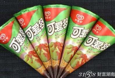 可爱多冰淇淋旗下产品种类多,每一款产品均冷热兼备,将甜水和饮品完美