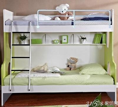 儿童床按结构可分为:儿童双层床