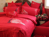 结婚季丨大红色(深色)床品防掉色小妙招!