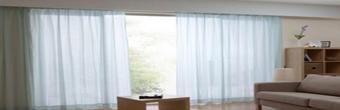 客厅落地窗帘挑选及搭配方法