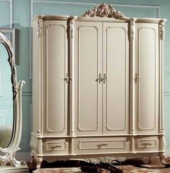 白色衣柜产品推荐 四款彰显浪漫风情