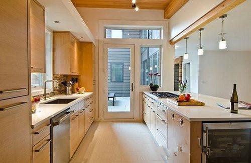 小户型厨房装修设计效果图五-22平米超小迷你家 小厨房设计推荐