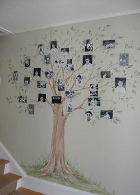 家居照片墙装饰效果图 高清图片