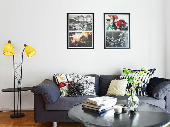 10款小户型客厅装修设计 打造清爽怡人风景高清图片