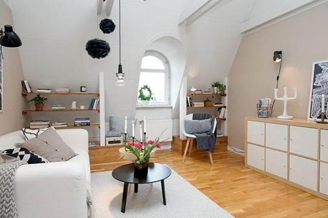 北欧风格地板装修效果图-3158家居网