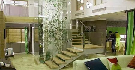欣赏《屋塔房王世子》韩剧复式公寓效果图
