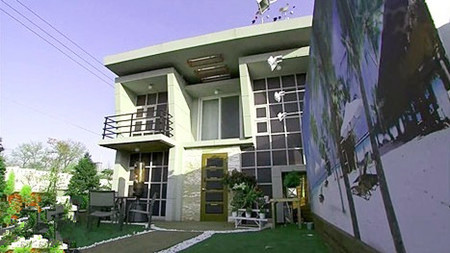 欣赏《屋塔房王世子》韩剧复式公寓效果图图片