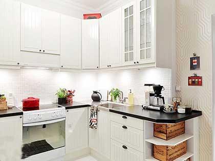 装修案例 > 54平装修效果图 缔造有料小户型  客厅是整个公寓最大空间