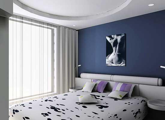 背景墙 房间 家居 起居室 设计 卧室 卧室装修 现代 装修 550_400