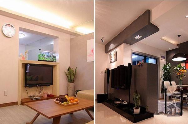 小户型客厅经典装修案例